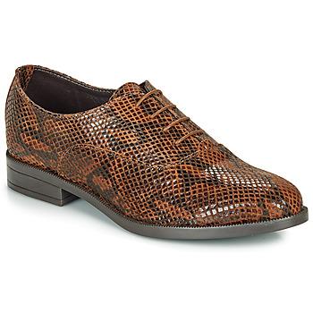 Chaussures Femme Derbies André MOBI Marron