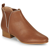 Chaussures Femme Boots André VERVEINE Camel
