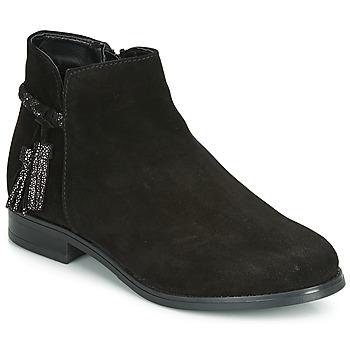 Chaussures Femme Boots André MILOU Noir