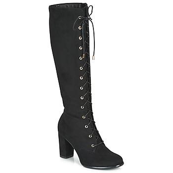Chaussures Femme Bottes ville André LUCETTE Noir