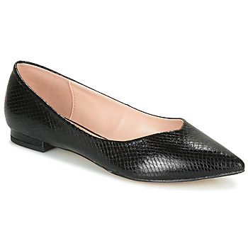 Chaussures Femme Ballerines / babies André LISERON Noir motif