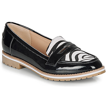 Chaussures Femme Mocassins André PORTLAND NOIR MOTIF