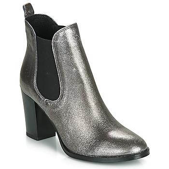 Chaussures Femme Bottines André CLAFOUTI Argent