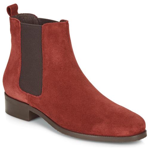 Femme Chatelain Boots Rouge André Chatelain c4A5RLq3j