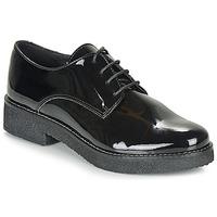 Chaussures Femme Derbies André NANEL NOIR VERNIS