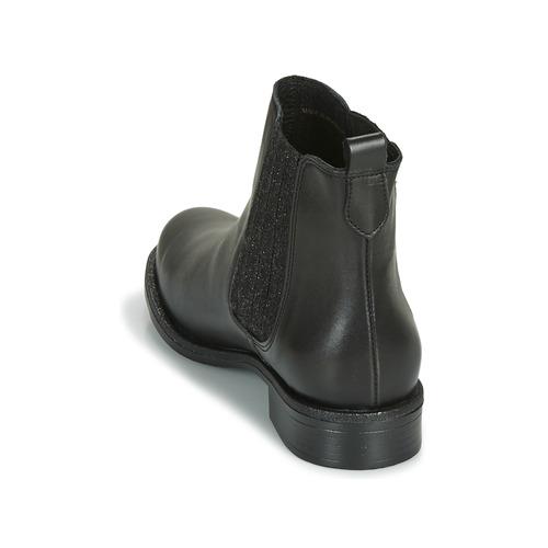 André Boots Femme Chaussures Noir Letkiss qpSUzVM
