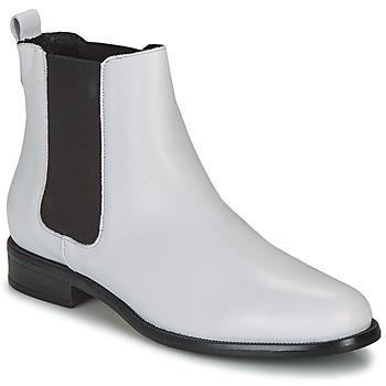 Chaussures Femme Boots André CARAMEL Blanc