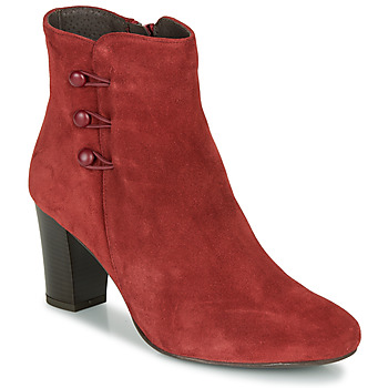 Chaussures Femme Boots André MAJESTEE Rouge