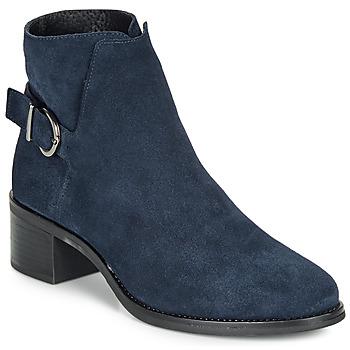 Chaussures Femme Bottines André MIRLITON Marine
