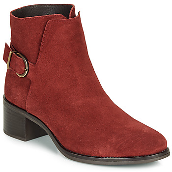 Chaussures Femme Bottines André MIRLITON Rouge