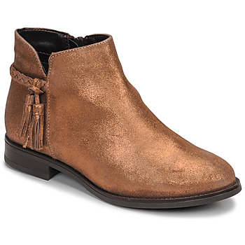 Chaussures Femme Boots André MILOU Or