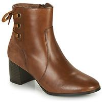 Chaussures Femme Bottines André MANON ECAILLE CAMEL