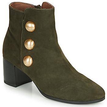 Chaussures Femme Bottines André NELLA Vert