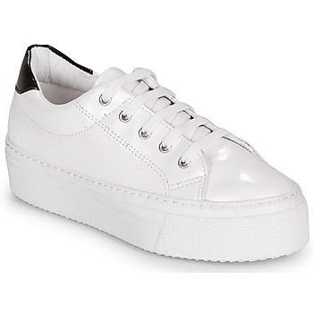 Chaussures Femme Baskets basses André SODA Blanc