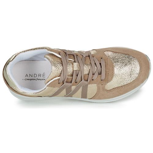 Prix Réduit Chaussures ihjdfh465DHU André ALLURE Doré