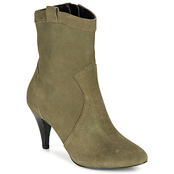 Chaussures Femme Bottines André EIKO Vert