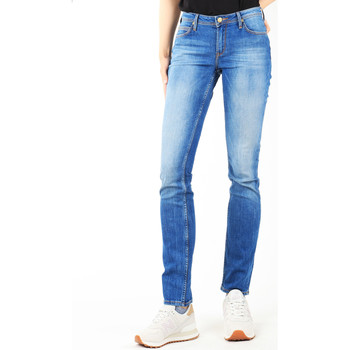 Vêtements Femme Jeans slim Lee Drew Real Black W24SCK81E niebieski