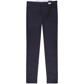 Vêtements Homme Chinos / Carrots Tommy Hilfiger Chino Regular Extensible Bleu Marine