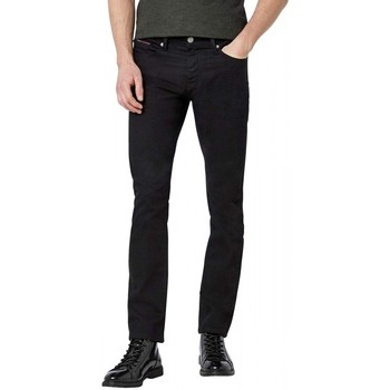Vêtements Homme Jeans slim Tommy Hilfiger Pantalon Slim Extensible Noir