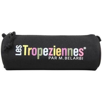 Sacs Enfant Trousses Les Tropéziennes par M Belarbi Trousse Les Tropéziennes ronde déco motif fleur Wissant Noir Multicolor