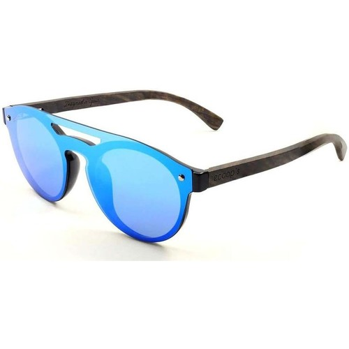 Montres & Bijoux Lunettes de soleil Cooper S 1506-4 BLUE bleu