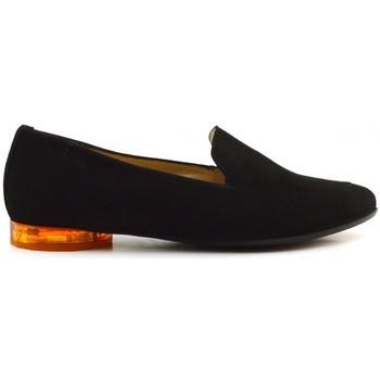 Chaussures Femme Mocassins Wonders A-8801 black Multicolore