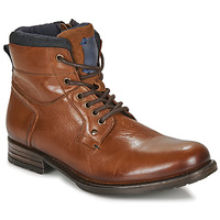 Chaussures Homme Boots André CLABA Cognac