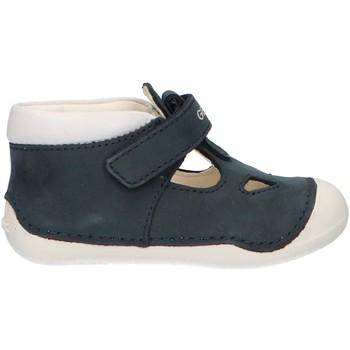 Chaussures Garçon Boots Geox B9239A 03285 B TUTIM C4211 NAVY Azul