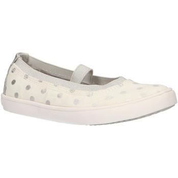 Chaussures Fille Derbies & Richelieu Geox J924NB 0SBNF J GISLI Blanco