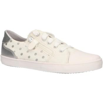 Chaussures Fille Baskets basses Geox J924NC 0SBNF J GISLI Blanco