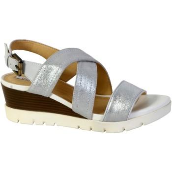 Chaussures Femme Sandales et Nu-pieds Geox Sandales D Marykarmen P.B Blanc