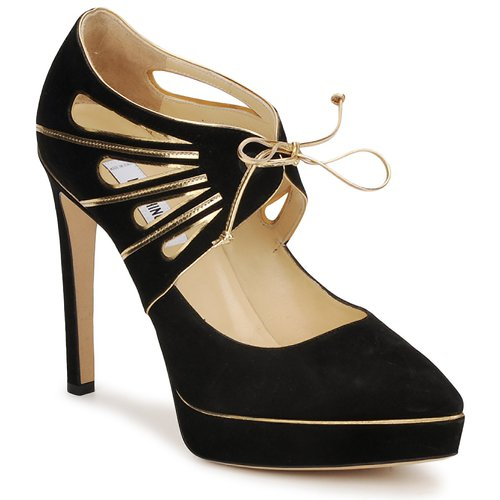 Chaussures Femme Escarpins Moschino MA1004 NERO-OR