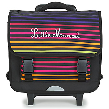 Sacs Enfant Sacs / Cartables à roulettes Little Marcel CALICEO Noir / Multicolore