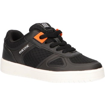 Chaussures Enfant Baskets basses Geox J925PB 01454 J KOMMODOR Negro