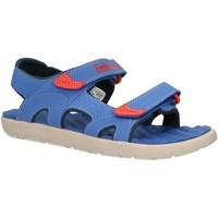 Chaussures Enfant Sandales et Nu-pieds Timberland A1QGB PERKINS Azul