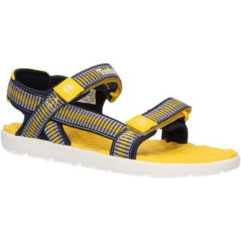 Chaussures Enfant Sandales et Nu-pieds Timberland A1YAK PERKINS Amarillo