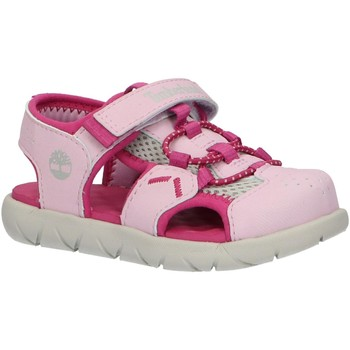Chaussures Fille Sandales et Nu-pieds Timberland A1Y74 PERKINS Rosa