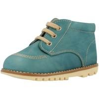 Chaussures Garçon Boots Landos 61S74 Bleu