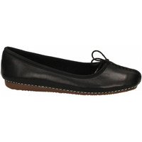 Chaussures Femme Ballerines / babies Clarks FRECKLE ICE LEATHER black-nero
