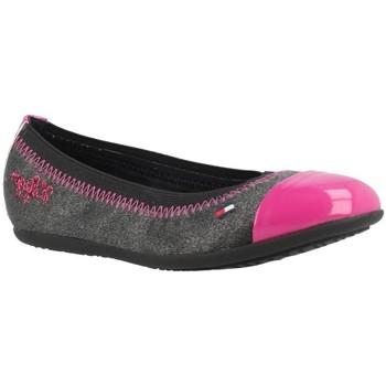 Chaussures Fille Derbies & Richelieu Tommy Hilfiger DANA 2C Gris