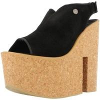 Chaussures Femme Sandales et Nu-pieds Istome SASHA 1 Noir