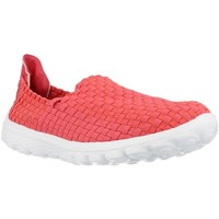 Chaussures Femme Slip ons Chika 10 CHESTER Rouge