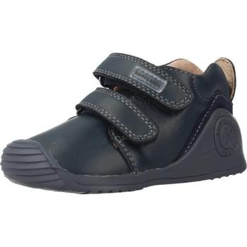 Chaussures Garçon Boots Biomecanics 161141 Bleu