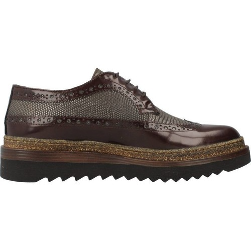 E2662X Elvio Zanon derbies femme marron