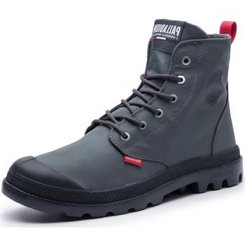 Chaussures Femme Bottines Palladium 75874 gris