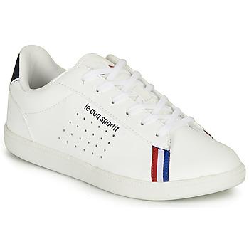 Chaussures Garçon Baskets basses Le Coq Sportif COURTSTAR BBR Blanc