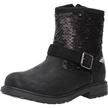 Chaussures Fille Boots Lulu 65611 Noir