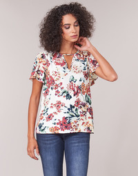 Vêtements Femme Tops / Blouses Casual Attitude LAURIANA Blanc / Multicolore