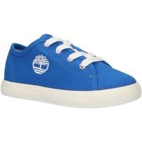 Chaussures Enfant Baskets basses Timberland A247V NEWPORT Azul