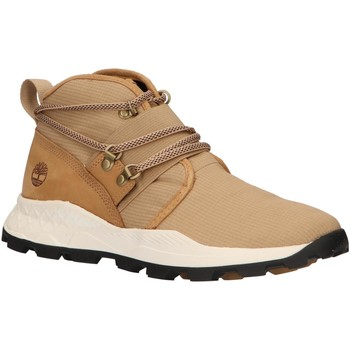 Chaussures Homme Boots Timberland A1YWY BROOKLYN Beige